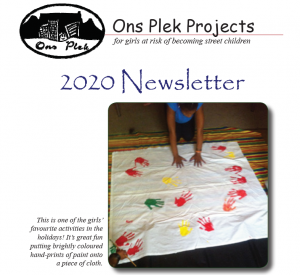 Ons Plek Projects newsletter