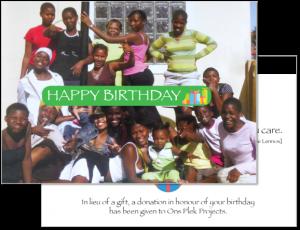 OnsPlek Birthday Card